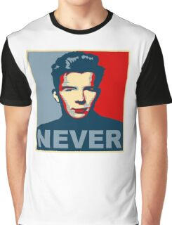 Never Gonna Give Up Hope Graphic T-Shirt