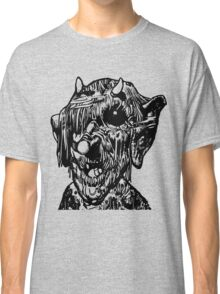 Scary Monster Deformed Face Classic T-Shirt