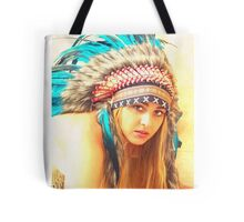 Indian warrior 12 Tote Bag