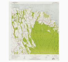 USGS TOPO Map Hawaii HI Haiku 349234 1957 24000 Kids Tee
