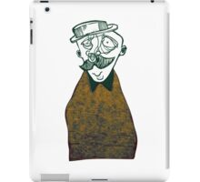Bowler hat iPad Case/Skin