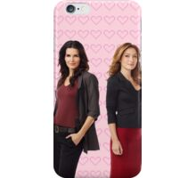 It all started with a Blonde and a Brunette | Rizzles iPhone Case/Skin