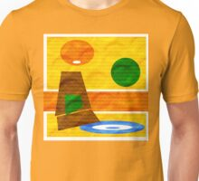 70's Lounge textured by Anne Winkler Unisex T-Shirt