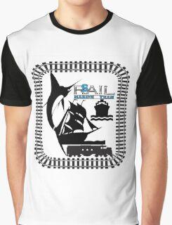 Rail Sail Marine Team ~ Riviera Visual Graphic Design Sydney Graphic T-Shirt