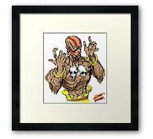 Streetfighter 2 Dhalsim Framed Print