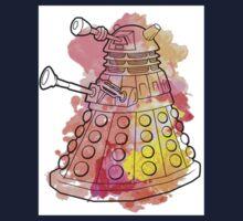 Dalek Watercolour Baby Tee