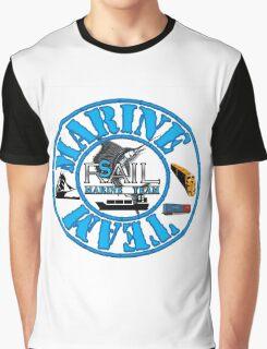 Rail Sail Marine Team ~ Riviera Visual Graphic Design Sydney ~ Graphic T-Shirt