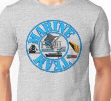 Rail Sail Marine Team ~ Riviera Visual Graphic Design Sydney ~ Unisex T-Shirt