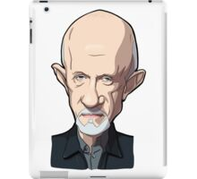 Mike Breaking bad caricature iPad Case/Skin