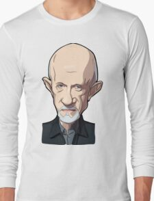 Mike Breaking bad caricature Long Sleeve T-Shirt