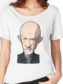 Mike Breaking bad caricature Women's Relaxed Fit T-Shirt
