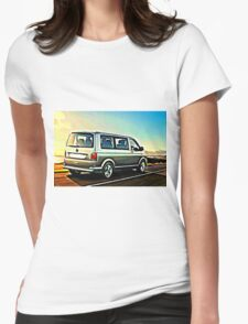 T6 Sunrise Womens Fitted T-Shirt