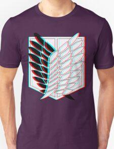 Attack On Titan - Survey Logo 3D edit T-Shirt