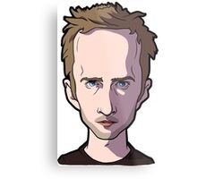 Jesse pinkman Breaking Bad Caricature Metal Print
