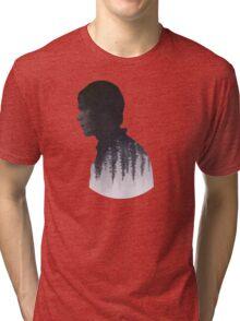 Bellamy - The 100 - Forest  Tri-blend T-Shirt