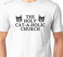 Holy Cat-a-holic Church Unisex T-Shirt