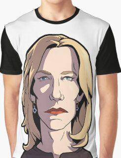 Skyler Breaking Bad Caricature Graphic T-Shirt