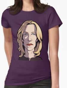 Skyler Breaking Bad Caricature Womens Fitted T-Shirt