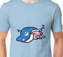 Cute Sleeping Pig Unisex T-Shirt