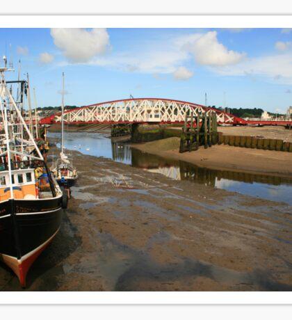 Ramsey Harbour Sticker