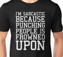 I'm Sarcastic Funny Quote Unisex T-Shirt