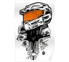 Hero of Halo Poster