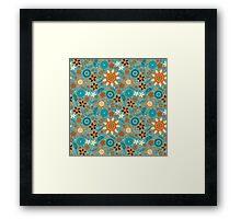 Scandinavian flowers Framed Print