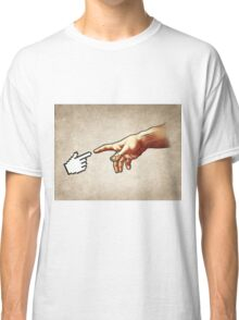 Creation of a nerd Classic T-Shirt