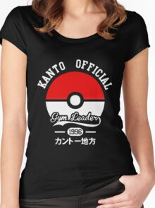 Pokeball Pokemon Women's Fitted Scoop T-Shirt