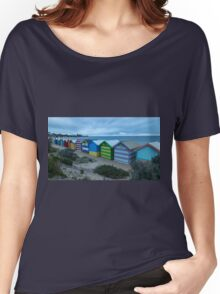 Brighton Beach Boxes in long exposure form Women's Relaxed Fit T-Shirt