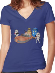 This IS the Droid You're Looking For Women's Fitted V-Neck T-Shirt