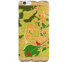 Lamego Map iPhone Case/Skin