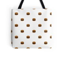 Hamburger All Over Tote Bag