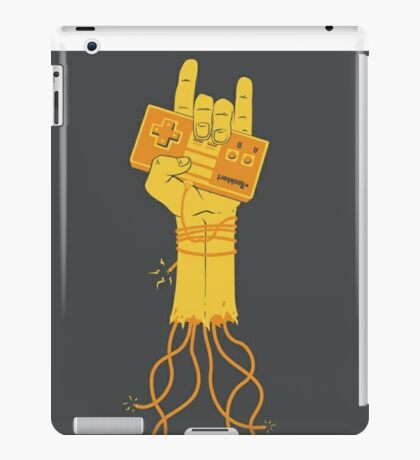 Rock videogames! iPad Case/Skin