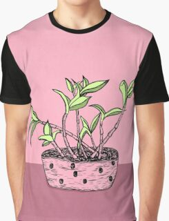 Wonky Flora 2 Graphic T-Shirt