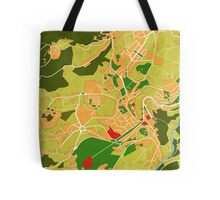 Lamego Map (version2) Tote Bag