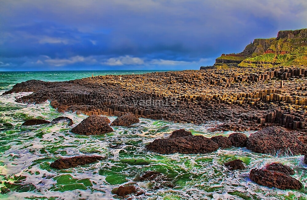 Northern Ireland. Giant's Causeway. by vadim19