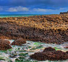 Northern Ireland. Giant's Causeway. Sticker