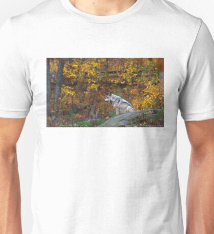 Lone Wolf - Timber Wolf Unisex T-Shirt