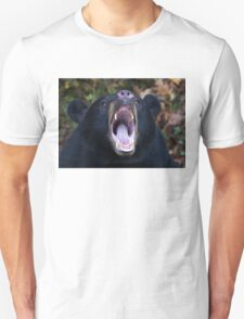 """I am not Yogi!!!"" - Black Bear Unisex T-Shirt"