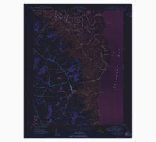 USGS TOPO Map Deleware DE Little Creek 255592 1949 24000 Inverted Kids Tee