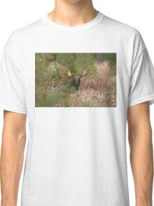 Bull Moose in Algonquin Park, Canada Classic T-Shirt