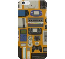 The console story iPhone Case/Skin