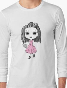 Little Miss in the Forest Long Sleeve T-Shirt
