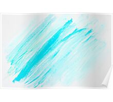 Abstract water color textured background Poster