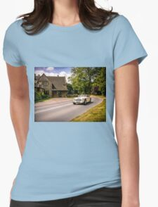Classic drive. Womens Fitted T-Shirt