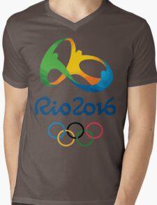Rio 2016 Mens V-Neck T-Shirt