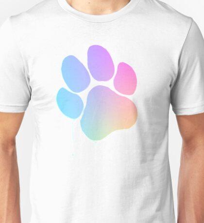Furry Rainbow Paw Unisex T-Shirt
