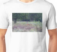 Buck in the Meadow - White tailed deer buck Unisex T-Shirt