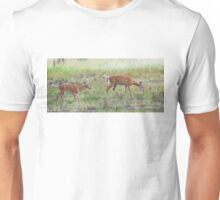 Morning Stroll - White Tailed Deer Fawn Unisex T-Shirt